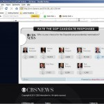 OlivePolitics CBS Poll