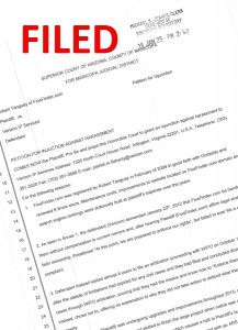 Filed Injunction in Maricopa County, Arizona