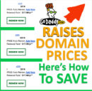 GoDaddy Raised Domain Renewal Prices in 2019, Again...