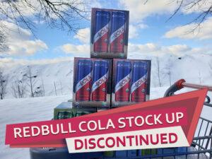 Redbull Organics Discontinued
